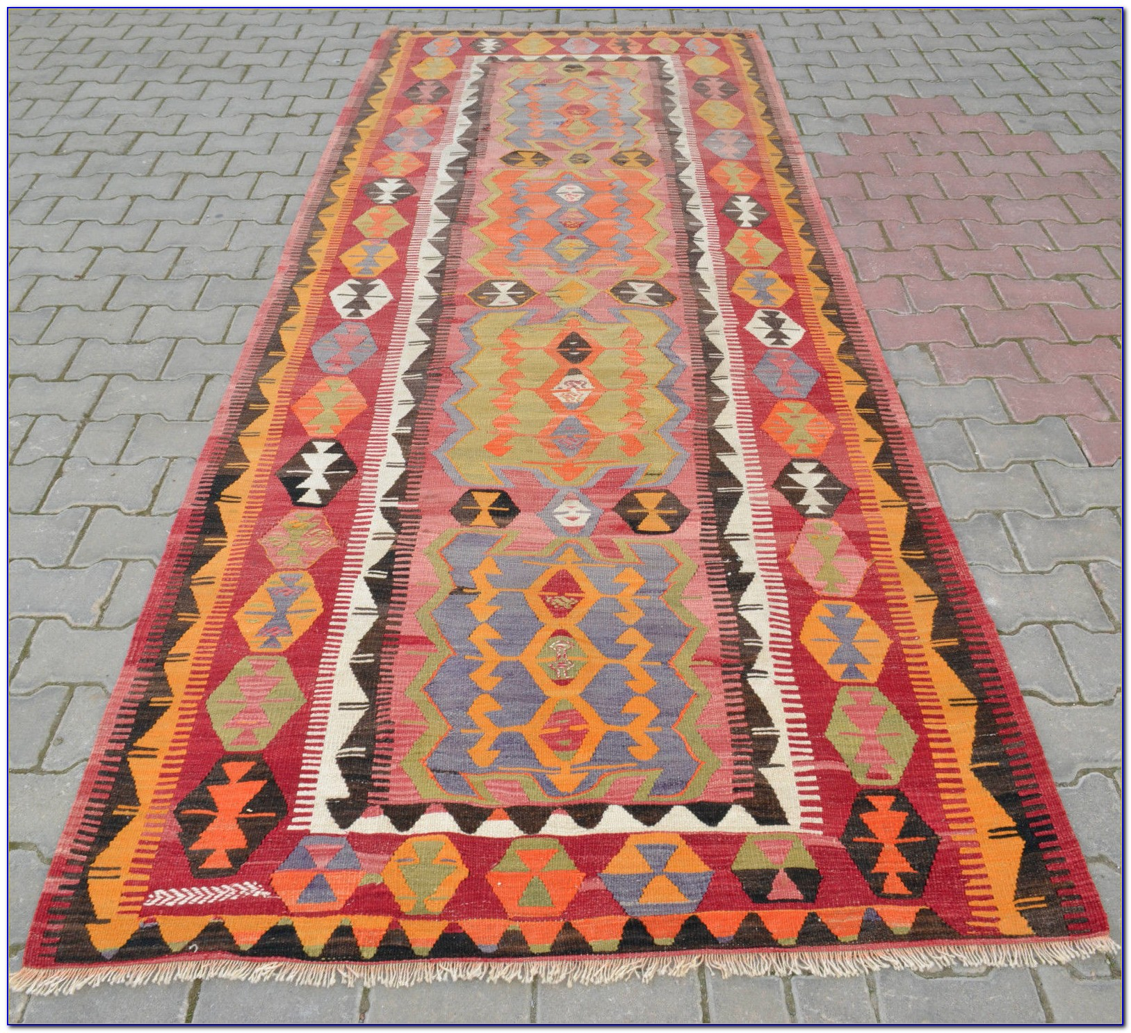 Vlola kilim runner rug rugs home design ideas for Home decorators rug runners