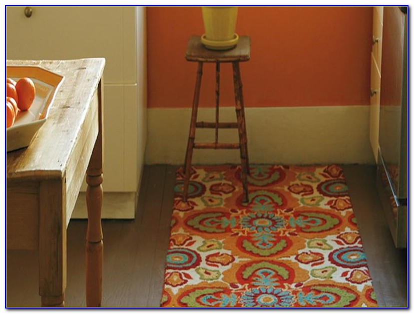 Washable Kitchen Rugs With Rubber Backing