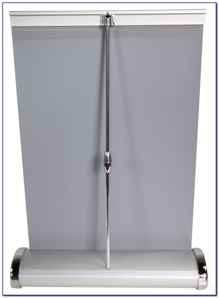 Tabletop Retractable Banner Stand 11 75 X 21 Tabletop
