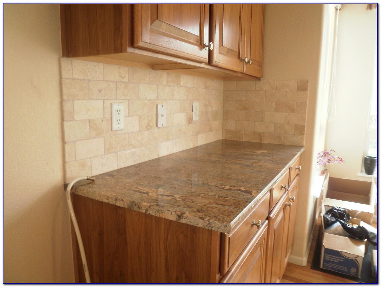3 215 6 Travertine Subway Tile Backsplash Tiles Home