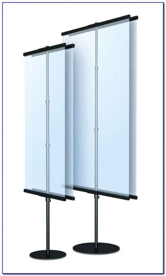 A3 Tabletop Banner Stand