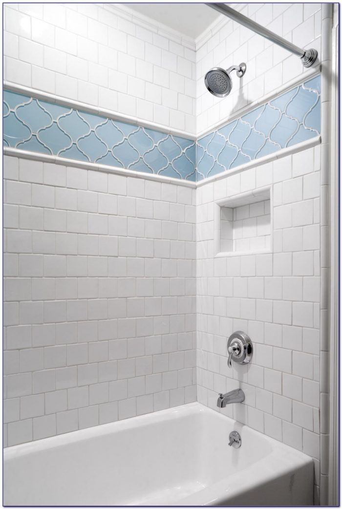 Accent Tile In Shower Height
