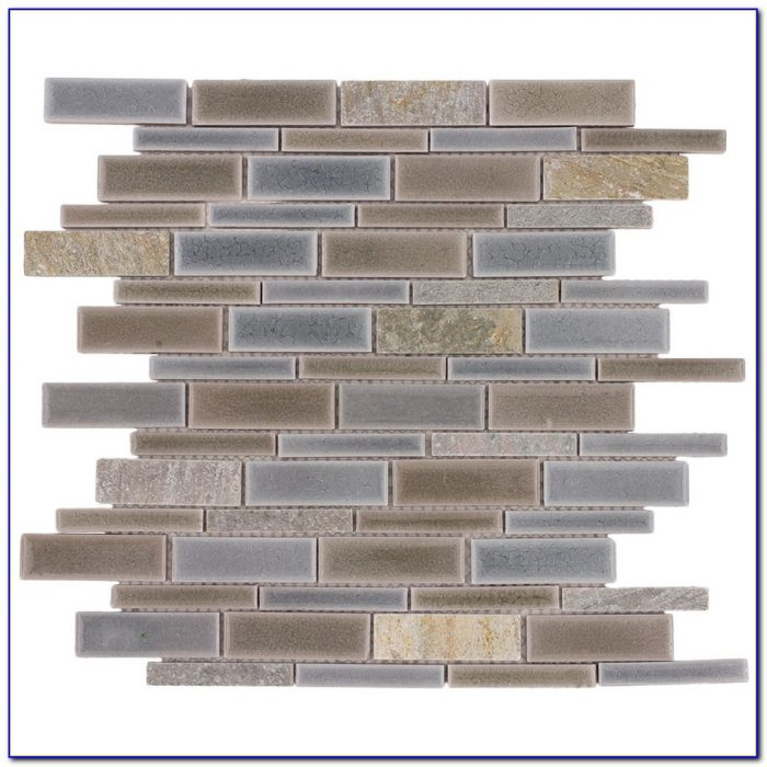Allen And Roth Fawn Subway Tile Allen And Roth Tile Pearl