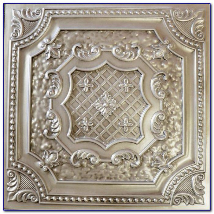 Antique Tin Ceiling Tiles Art