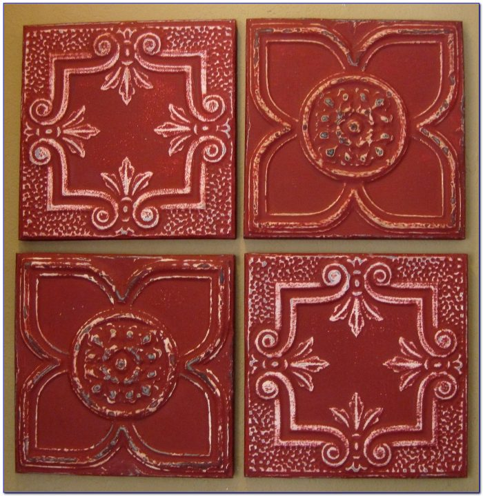 Antique Tin Ceiling Tiles Projects