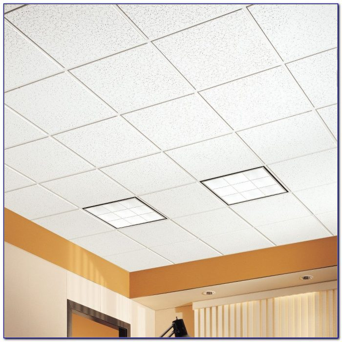 Armstrong Fiberglass Commercial Ceiling Tiles