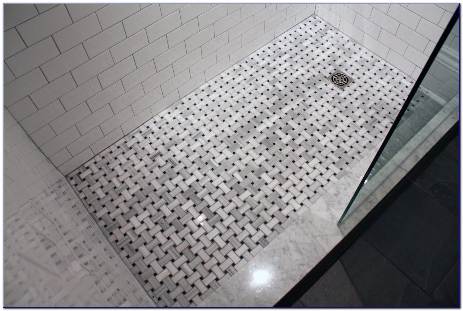 How To Basket Weave Tile : Basket weave tile pattern ideas tiles home design