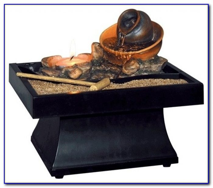 Battery Operated Tabletop Fountains