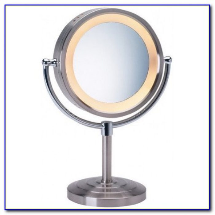 Broadway Lighted Vanity Mirror Desk : Broadway Lighted Vanity Makeup Desk Black - Desk : Home Design Ideas #ymng68GPRO25412