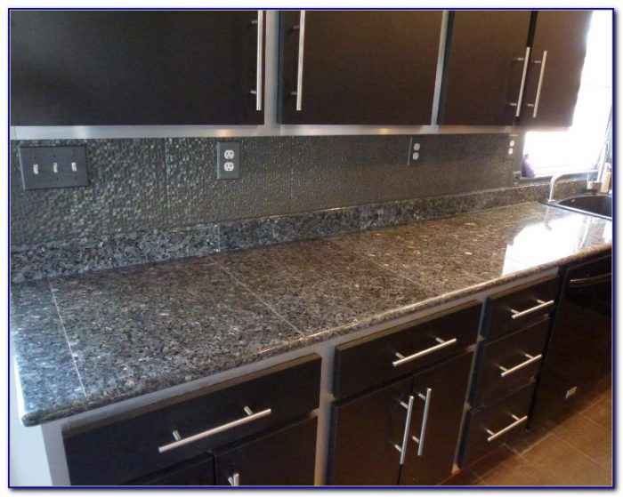 granite tiles for kitchen countertops black galaxy granite tile bullnose tiles home design 6895