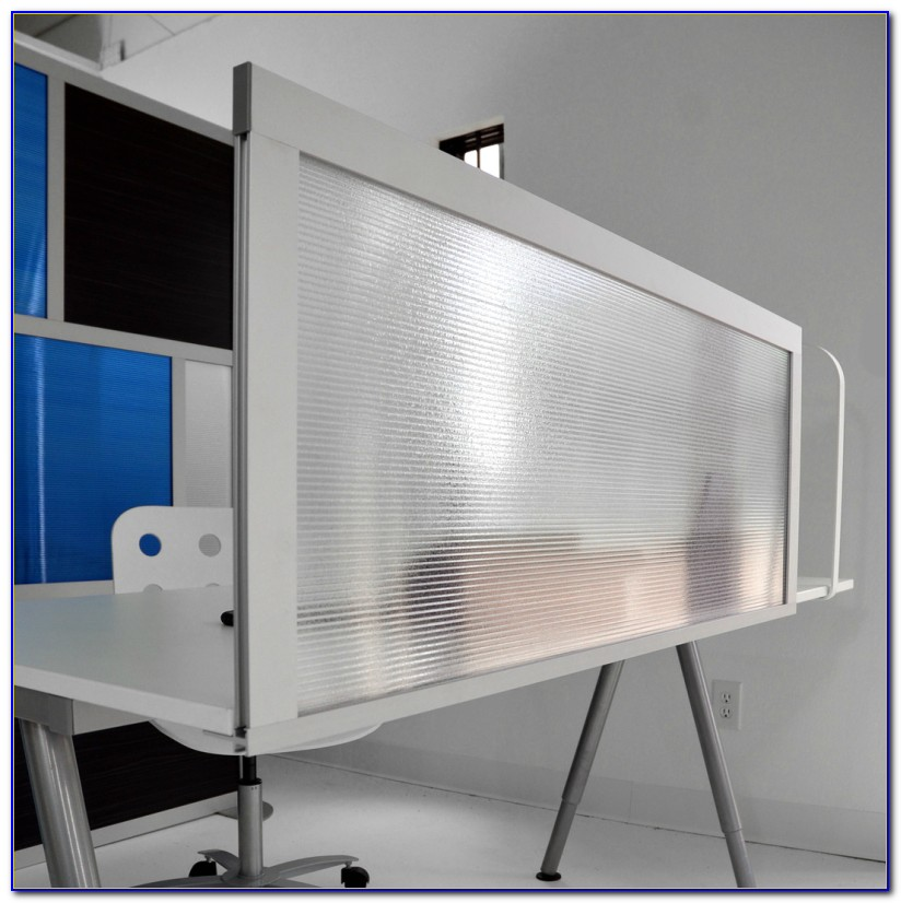 Cardboard Tabletop Privacy Screen