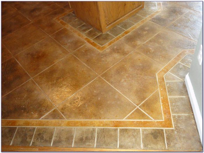 Ceramic Floor Tile Layout Patterns