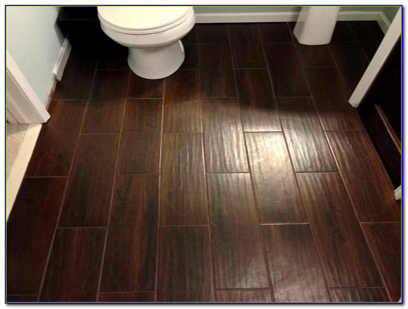 Ceramic Tile Flooring Looks Like Wood Tiles Home
