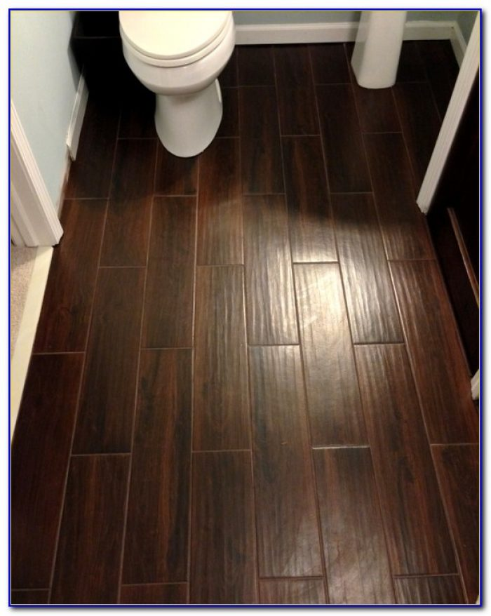 Ceramic Tile That Looks Like Wood For Bathroom