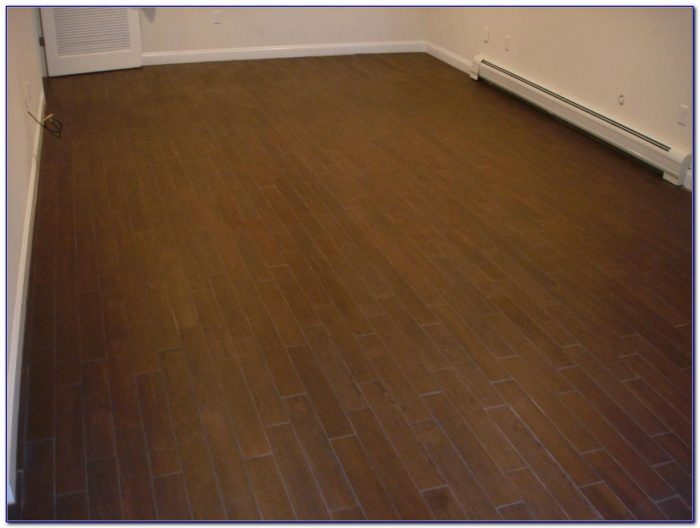Ceramic Tile Wooden Floor
