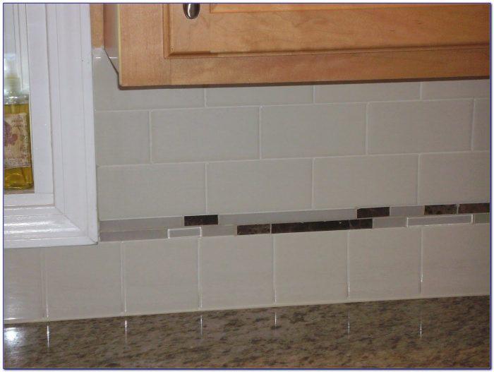 Crackle Ceramic Subway Tile Backsplash