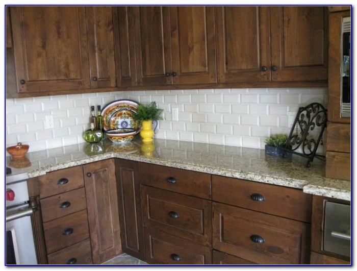 Kitchen Backsplash Ideas With Cream Cabinets - Kitchen ...