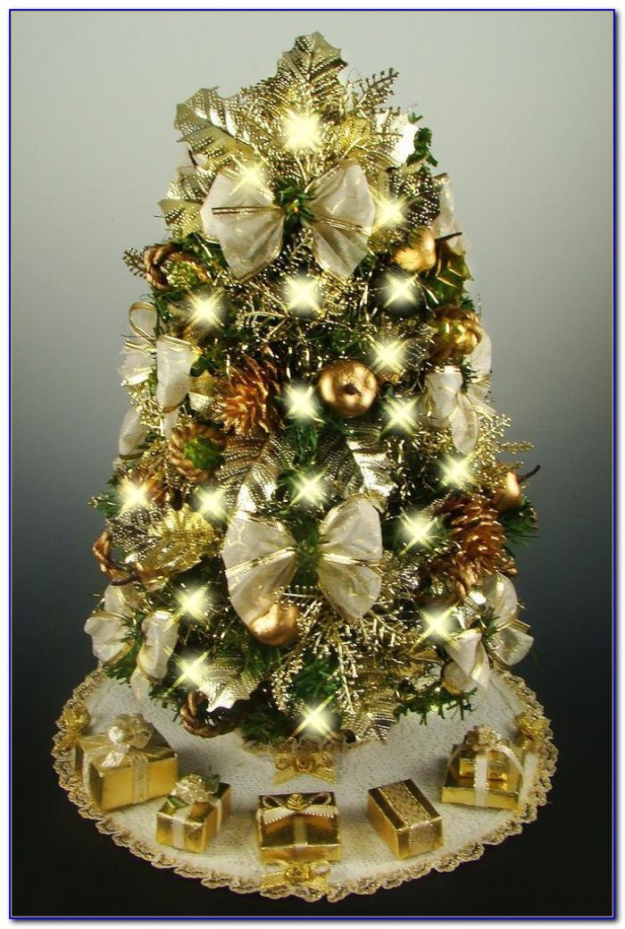 Decorating Ideas Tabletop Christmas Trees