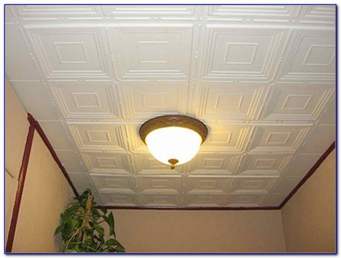 Painting Drop Down Ceiling Tiles Download Page Home