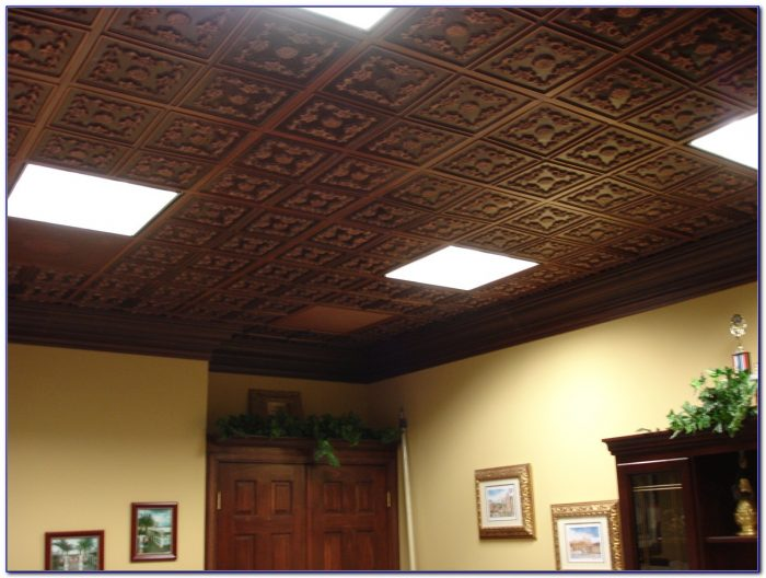 Decorative Drop In Ceiling Tiles