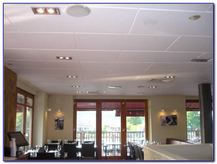Decorative Sound Absorbing Ceiling Tiles