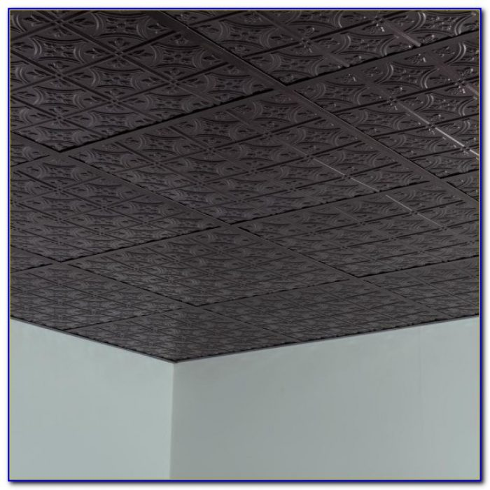 Drop Ceiling Tiles 2x2 Black