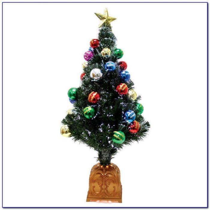 Table Top Christmas Tree With Fiber Optic Lights