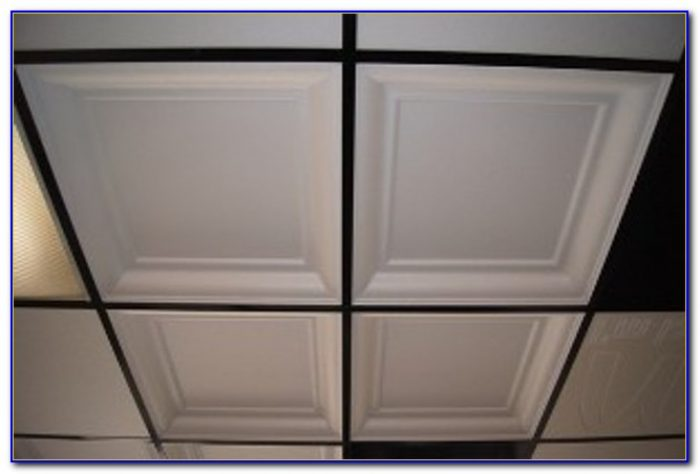 Fire Rated Ceiling Tile Assembly