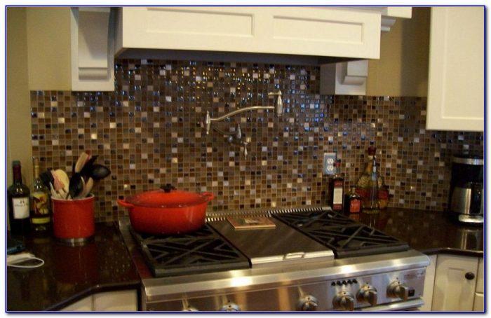 Glass Mosaic Tile Backsplash Pictures