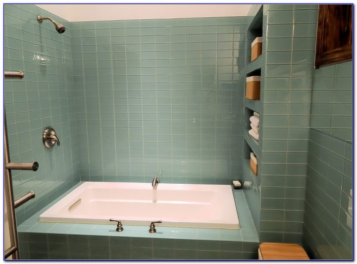 Glass Subway Tile Shower Ideas