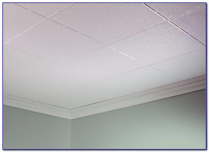 Glue Up Ceiling Tiles Over Popcorn