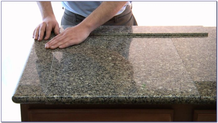 Granite Tile Kitchen Countertop Kits