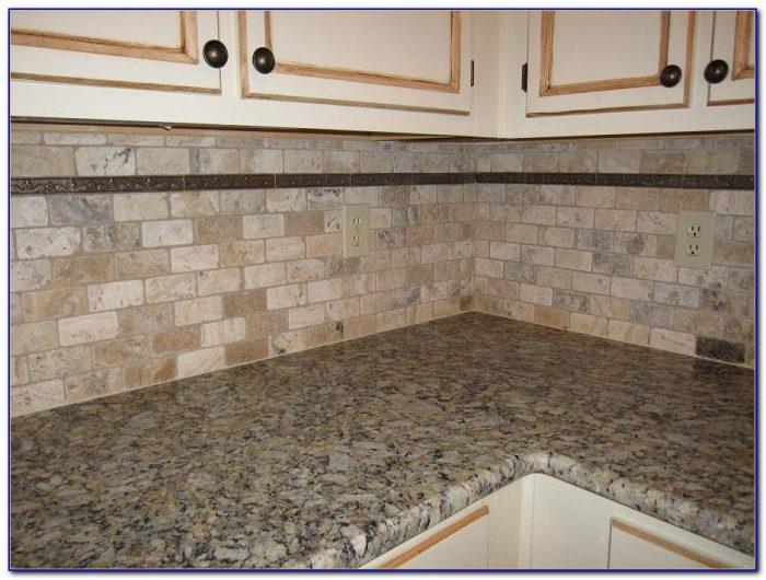 Grouting Natural Stone Tile Backsplash