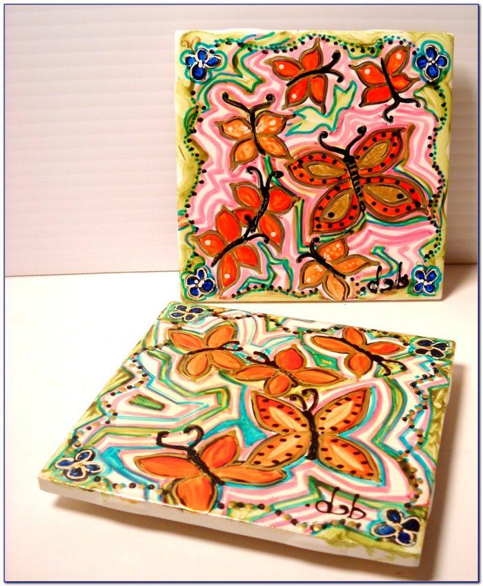 Hand Painted Ceramic Tiles Uk