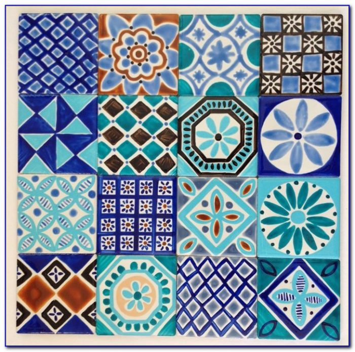 Hand Painted Ceramic Tiles India Tiles Home Design