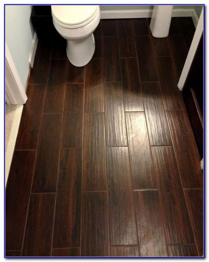 How To Install Ceramic Tile That Looks Like Hardwood