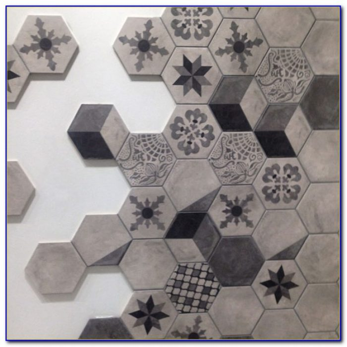 How To Install Large Hexagon Tile Floor