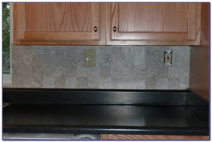 How To Install Peel And Stick Vinyl Tile Backsplash