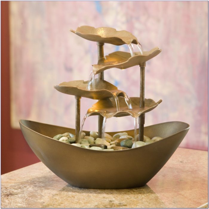 Indoor Tabletop Waterfall Fountains