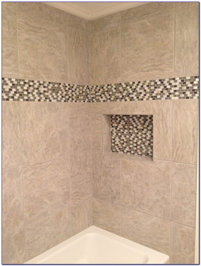 Installing Accent Tile In Shower
