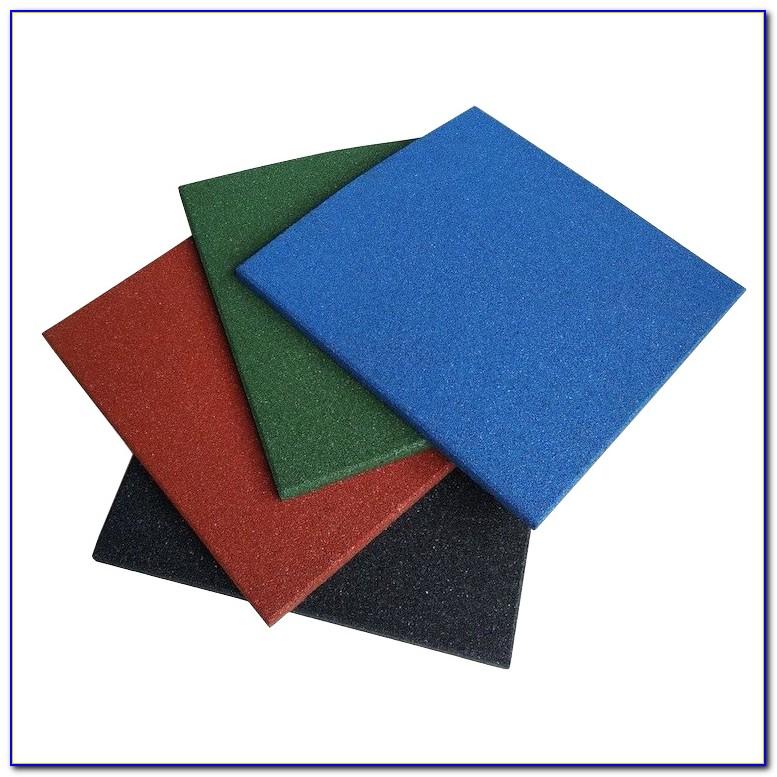 Interlocking Rubber Floor Tiles Basement