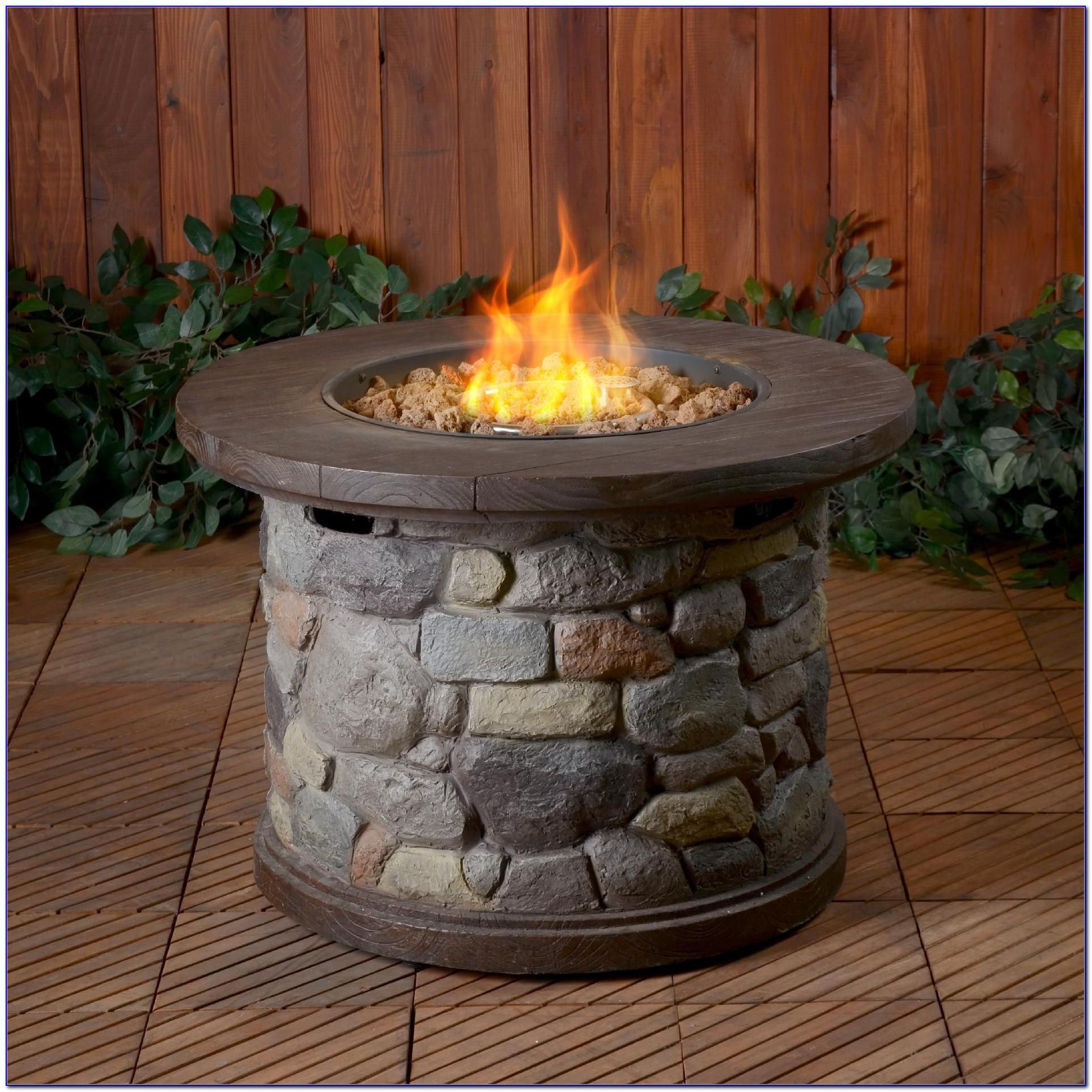 Landmann Usa Seneca Gas Tabletop Fire Pit 15 Inch ...