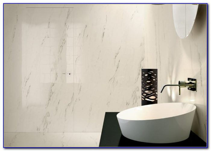 Large Format Porcelain Tile Countertop