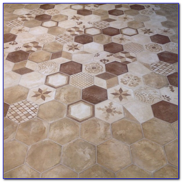 Large Hexagon Marble Floor Tile Tiles Home Design