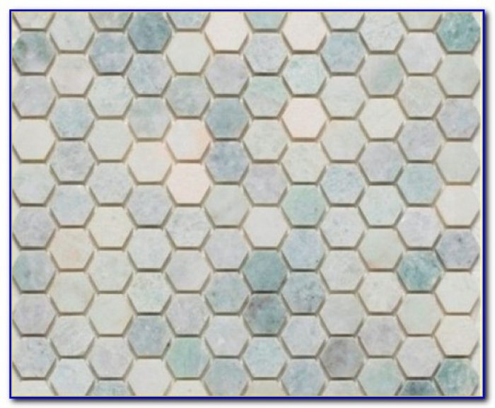 Large Marble Hexagon Floor Tile
