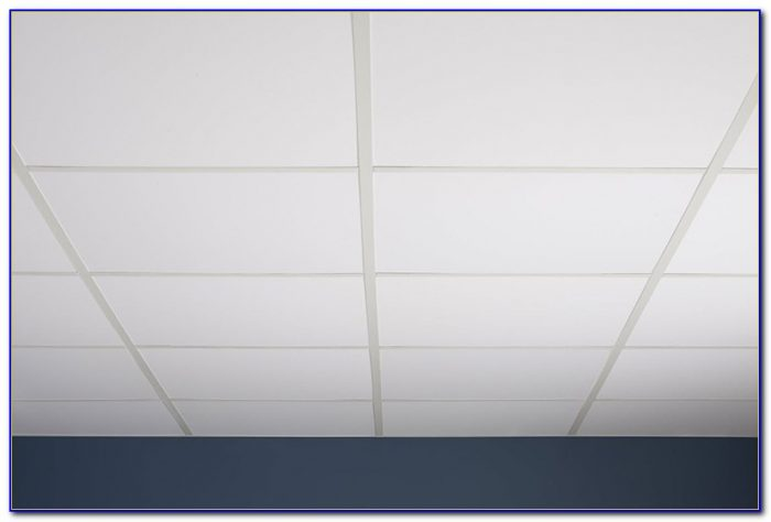 Lay In Ceiling Tile Installation