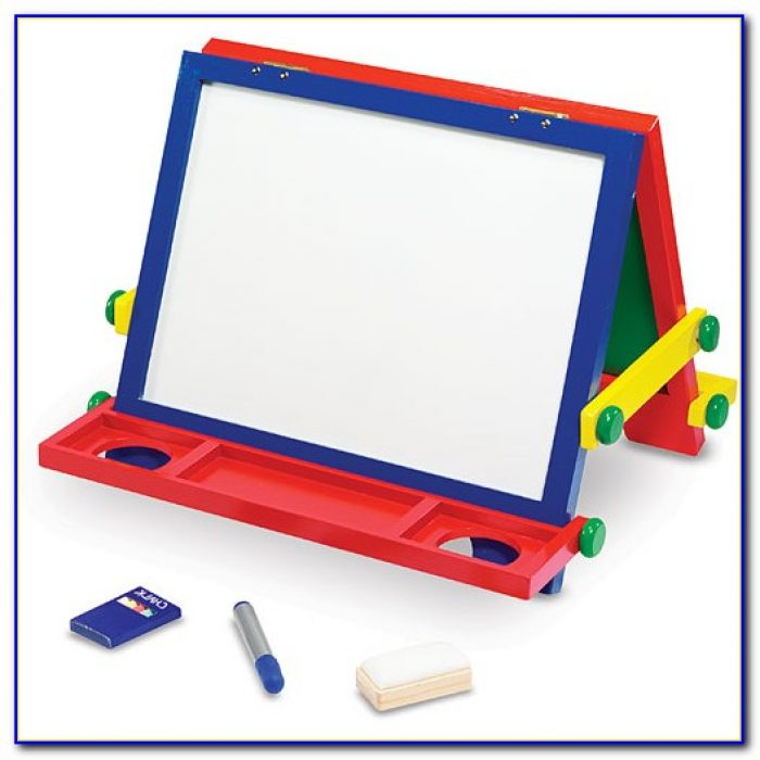 Magnetic Dry Erase Tabletop Easel