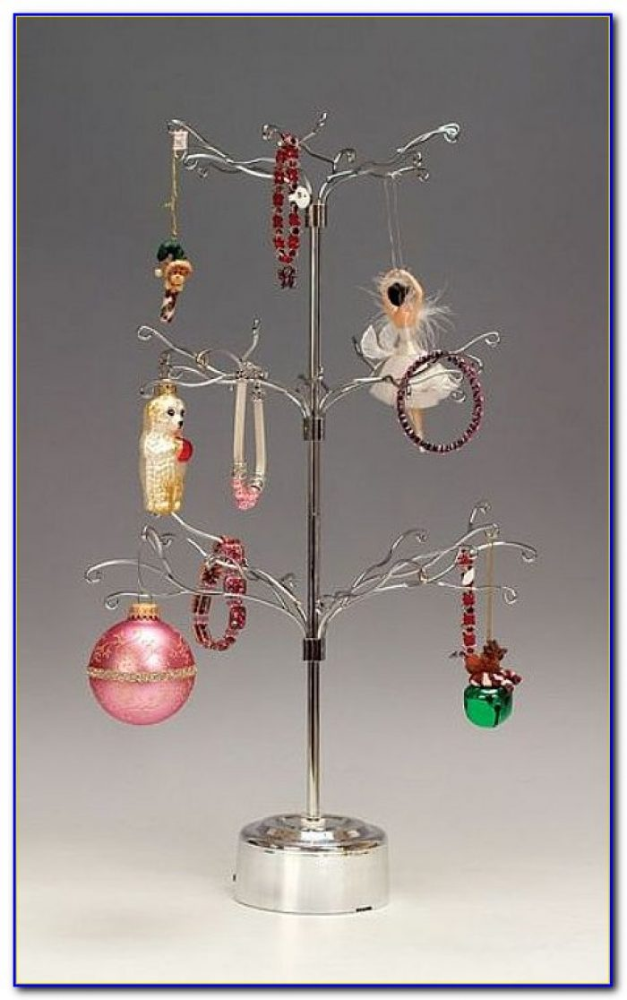 Metal Tabletop Ornament Tree
