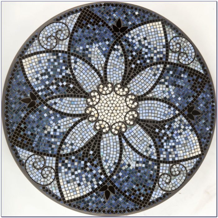Mosaic Tabletop Patterns Tabletop Home Design Ideas