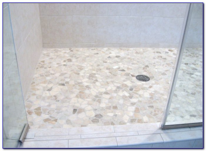 Mosaic Tile Shower Floor Ideas